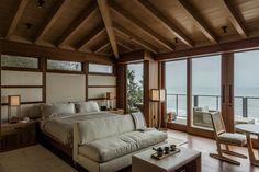 Bedrooms have tatami mats and shoji screens.