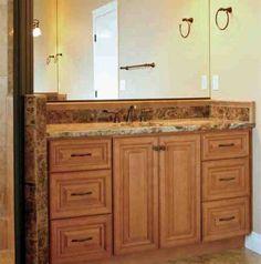 Maple Vanity Cabinets - Home Furniture Design Home Furniture, Furniture Design, Vanity Cabinet, Double Vanity, Bathroom, Cabinets, Home Decor, Washroom, Armoires