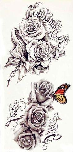 Caring For A New Tattoo - Hot Tattoo Designs Neck Tattoos, Tattoos Skull, Best Sleeve Tattoos, Forearm Tattoos, Foot Tattoos, Body Art Tattoos, Rose Tattoo Sleeves, Rose Sleeve, Cross Tattoos