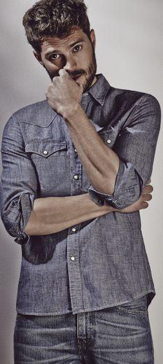 Jamie Dornan - and his amazing beard.