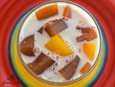 Peach Rooibos Almond Float