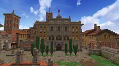 city hall of Tivoli with a renaissance facade