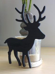 Des photophores avec de jolies silhouettes en bois - Creatish.fr