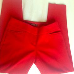 Limited lipstick red skinny ankle drew fit pant Gently worn. Ankle length. The Limited Pants Ankle & Cropped