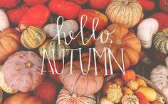 Image de autumn, hello, and September