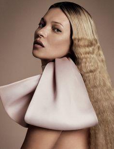 Kate Moss for i-D Pre-Spring 2013 - Photography Daniele + Iango - Neck Tie Dior.