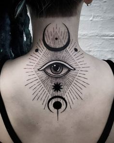 Third Eye Tattoos, All Seeing Eye Tattoo, Lower Back Tattoos, 3rd Eye Tattoo, Mini Tattoos, Body Art Tattoos, Tattoos For Guys, Cool Tattoos, Portrait Tattoos