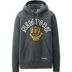 MEN SPRZ NY SWEAT PULLOVER HOODIE (KEITH HARING)