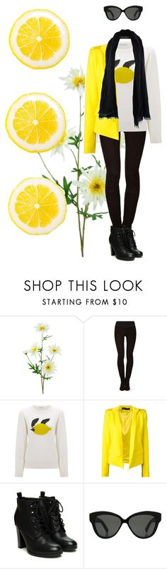 """""""Citrus"""" by larissa-k ❤ liked on Polyvore featuring Tamara Mellon, J.W. Anderson, Alexandre Vauthier, Linda Farrow and Dosa"""