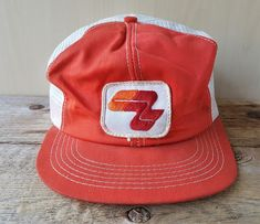 8f9f58ef63b2a Details about Vtg 80s PENNZOIL Yellow Mesh Trucker Hat K-Brand Canada Snapback  Baseball Cap