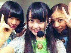 乃木坂46 (nogizaka46) nakada kana, ito marika and kawamura mahiro ^^