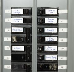 New house? Wondering what to do first? This list from Lowe's is helpful. In particular, the two that (I think) are really important are labeling your breaker box and knowing where all your water valves/shutoffs are located!
