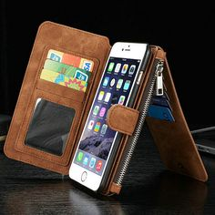 Women Men Universal 4.7'' PU Leather Phone Case Phone Bag For Iphone 6,Iphone 6S