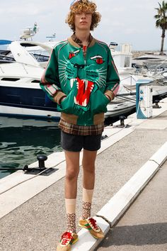 7e39f65509b5 Gucci Cruise 2019 Menswear Lookbook Fashion Clothing Martin Parr Cannes  Sneakers Sandals Sega Release Details Information