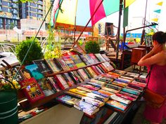 Word on the Water, London: This bookstore is on a barge, for starters. You can hop aboard to browse through its selection (and mingle with the owner's cats), or stay on the mainland to see their poetry readings and live music, which happen on the roof of the barge.