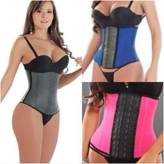 Corset Waist trainers are UNISEX & they really WORKS! Corset Training is one of the oldest forms of waist reduction for women who want a curvy sexy figure. Corset training eliminates abdomen & belly fat by joining false ribs enhancing your waist and overall figure! Corset training is ideal for women who are recovering after giving birth and achieving a slimmer middle. It prevents your abdomen from descending and tightens muscles giving you a sexy coke bottle figure! For info text…