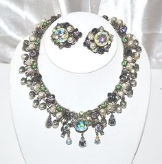 Signed Robert Book Chain Vintage Necklace by LustfulJewels on Etsy