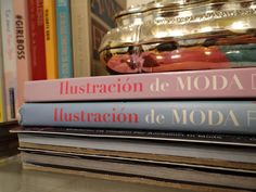 My firsts fashion books. I got them in Buenos Aires when I was 11 at the super famous Ateneo Library. I can remember exactly the delicious smell of coffe and hot chocolate all over. And how beautiful the library is and its absurd architecture all covered with gold. Previously there was the Gran Splendid opera theater. The inner dome was painted by Nazareno Orlandi and represents the peace of the end of the 1st World War. Just a few books that represents a lot to me and gives me so good…