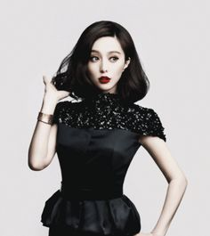 The Chinese bob hairstyle is an absolute beauty. It is a timeless hairstyle that can be worn by celebrities. If you're worried how you should have your bob. Fan Bingbing, Fashion Models, Fashion Show, Fashion Outfits, Chinese Bob Hairstyles, My Fair Princess, Chinese Actress, Asian Style, Types Of Fashion Styles