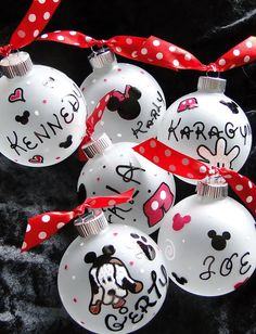 Disney ornaments for our annual ornaments?? @Ch