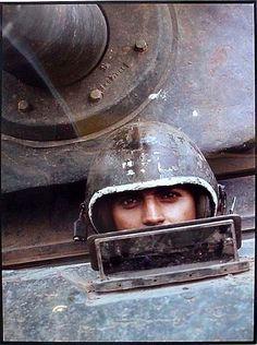 'Eyes' of the Vietnam War. Photo Tim Page.