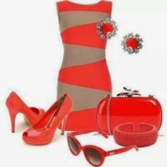 Stylish eve Best SpringWinter Collection 2014 with Channel Classy Outfits, Beautiful Outfits, Cute Outfits, Stylish Eve, Office Fashion, Business Fashion, Work Fashion, Vestido Multicolor, Coral