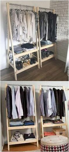 This amazing wood pallet closet has been all attained with the perfect use of the double stacking of pallet planks that are settled over one another. The designing and overall shaping of the closet has been very much delightful to view. You would 100% be winning so much of the praise from the side of the visitors for sure.