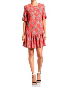 Jag Nomad Ruffle Dress product photo Ruffle Dress, Women's Fashion Dresses, Dress For You, Womens Fashion, Shopping, Ladies Fashion Dresses, Women's Fashion, Woman Fashion, Fashion Women