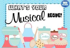 WHAT'S YOUR MUSICAL RECIPE? BULLETIN BOARD The brightly colored elements of music posters will brighten up your music room and help students categorize their music learning! The posters are categorized into the elements of music and draw on concepts of baking to make terms memorable and relevant for students. They are perfect for a music word wall or any music display. This poster is part of a series of posters highlighting the elements of music. Posters can be used in introduce or reinforc Story Elements Posters, Art Elements, Design Elements, Music Word Walls, Music Room Organization, Music Bulletin Boards, Music Theory Worksheets, Middle School Music, Music Posters