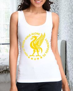 You'll Never Walk Alone Liverpool fc design for women by lerofer, $20.00