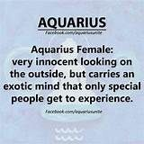 Aquarius Personality Traits Female