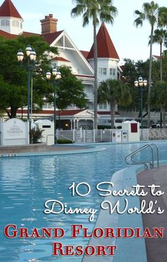 Planning at stay at the Grand Floridian at Walt Disney World? Here are 10 little-known secrets - big and small - from all over the resort that will make your Disney vacation extra magical. Disney World 2017, Disney World Rides, Disney World Hotels, Disney World Florida, Disney World Parks, Walt Disney World Vacations, Disney Worlds, Family Vacations, Dream Vacations