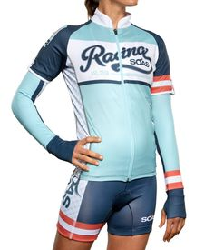 """SOAS Racing """"Vintage Race"""" 3-in-1 Arm Warmers womens cycling"""