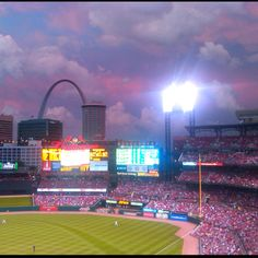 Busch Stadium home of the St. Louis Cardinals...love them even when they stink it up!