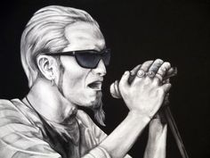 Layne Staley - Alice in Chains Art Print