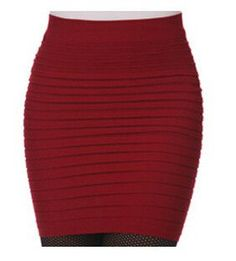 Short Mini Jupe Bandage Slim Bodycon Fashion Skirts High Waist Elastic Pleated Hip Short Skirt