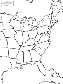 east coast of the united states free maps free blank maps free outline map