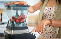 Protect yo' blender blades! Add liquid or yogurt to your smoothie first, then soft fruits, vegetables, and ice on top.