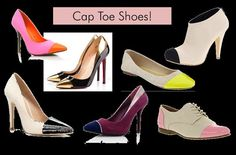 Shoe Makeover: DIY Cap Toe Shoes DIY Shoes DIY Refashion