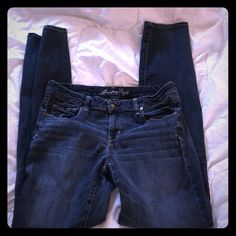 Jeans Lots of stretch to them. Skinny jeans 14 long American Eagle Outfitters Jeans Skinny