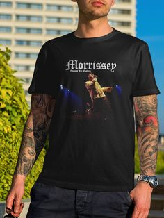 Morrissey T-Shirt Famous for Nothing The Smiths Tee