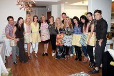 Brittany Snow & her buddies, including her BFFs Jessica Stroup & Vanessa Hudgens.  Also pictured Torrey Devitto