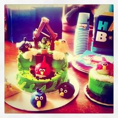 Angry Birds Party for Zane?