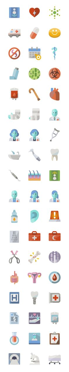 Flat Medical - icon sets
