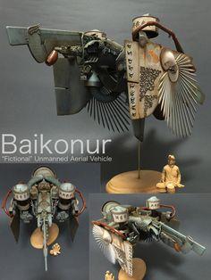 ジャンクプラント » 無人機鳥類族バイコヌール