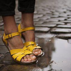 Salt Water Sandalen «Originals» gelb - weloveyoulove  - 3