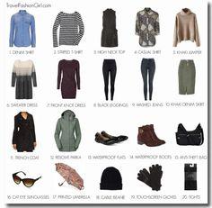 Seattle Capsule Wardrobe: Winter