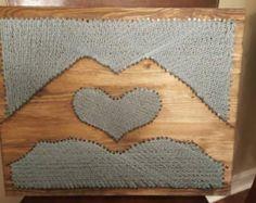 26x16 Infinity Love Sign String Art Love String от DistantRealms