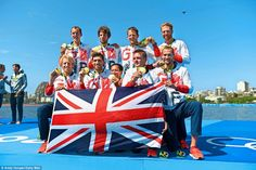 Team GB is as strong as ever in rowing as well with the men's eight beating…