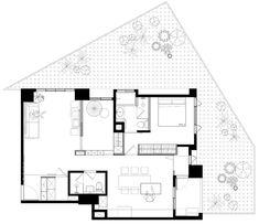 庭院景觀帶入客廳!新北 25 坪挑高雙人夾層屋 - DECOmyplace 新聞